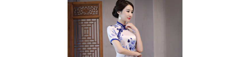Cheongsam Short Dress