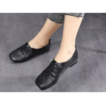 Chinese Style Women's Shoes Black