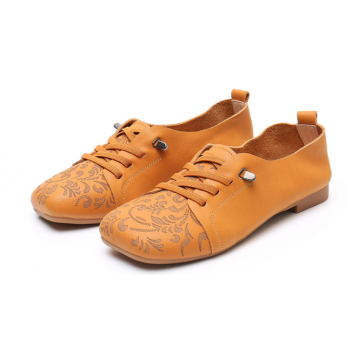 Chinese Style Women's Shoes Brown