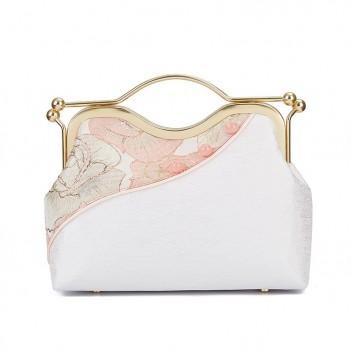 Guochao new Hanfu bag | Fashion all-match stitching female bag | Portable messenger bag | One-shoulder fairy bag