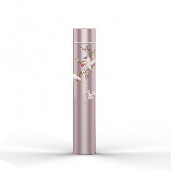 300ML Ladies Slender Water Cup Stainless Steel Vacuum Cup Elegant Chinese Style
