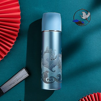 Chinese style selection stainless steel vacuum flask|Stainless Steel Large Capacity Vacuum Flask(480ml)