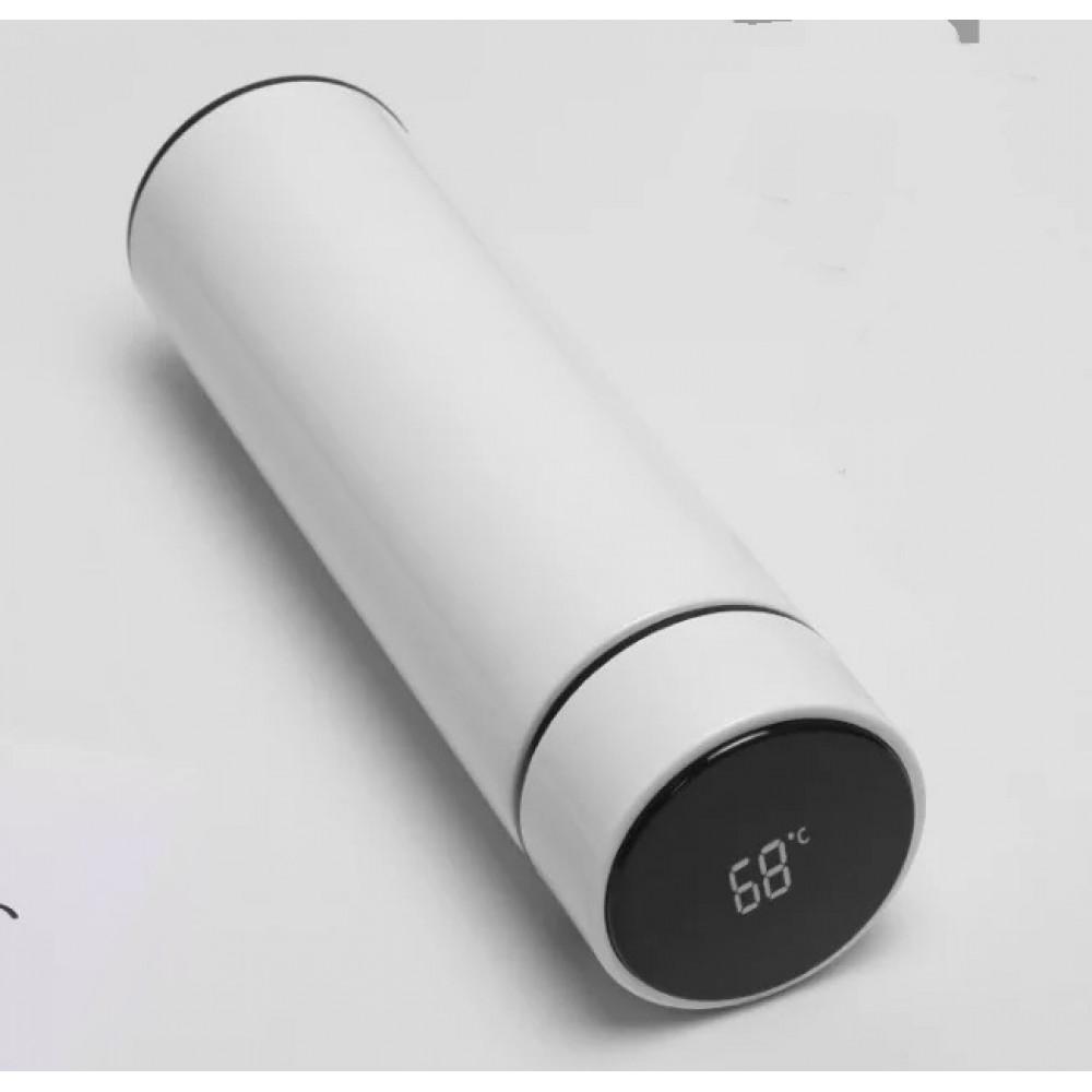 500ml Intelligent Travel Thermos Stainless Steel Vacuum Water Cup Coffee Tea Mug