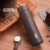 450ml Straight Cup Frosted Vacuum Thermos Business Water Bottle Stainless Steel Insulated Double Wall Travel Mug for Business Gift