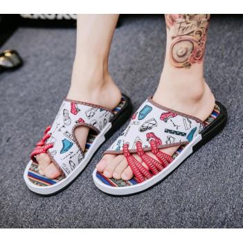 Men Sandals White